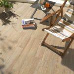 Carrelage exterieur aspect bois