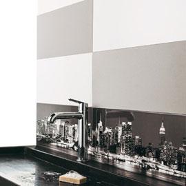 carrelage mural adhésif