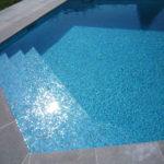 Carrelage piscine pate de verre