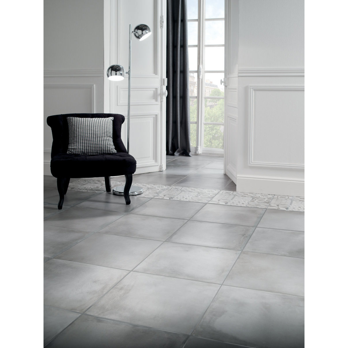 Lino salle de bain brico depot for Photos carrelage