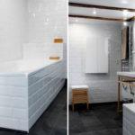 Carrelage salle de bain blanc