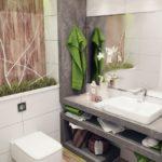 Carrelage salle de bain zen