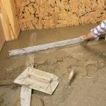 Carrelage sur dalle beton