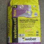 Colle carrelage weber
