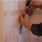 Comment enlever carrelage mural