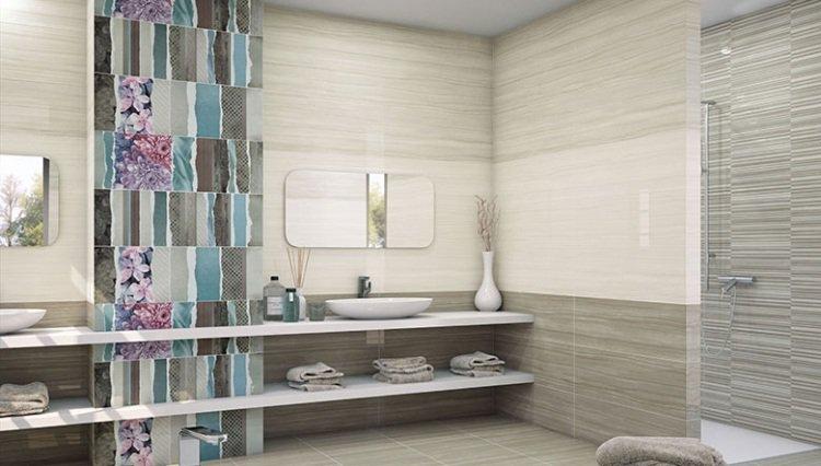 Idee Deco Carrelage Salle De Bain - Calepinage carrelage salle de bain