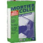 Mortier colle carrelage