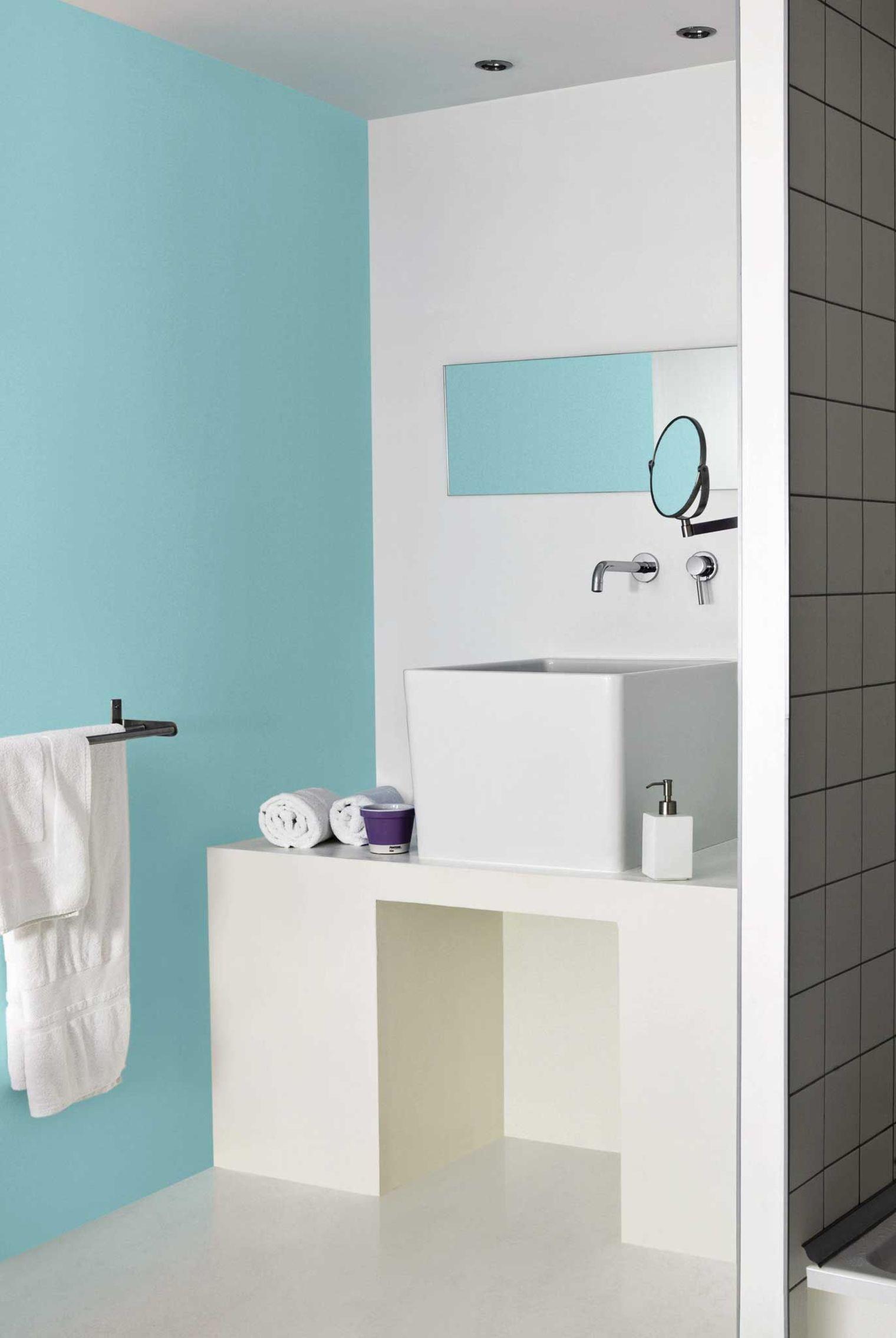 Faience rouge salle de bain - Peindre meuble salle de bain ...