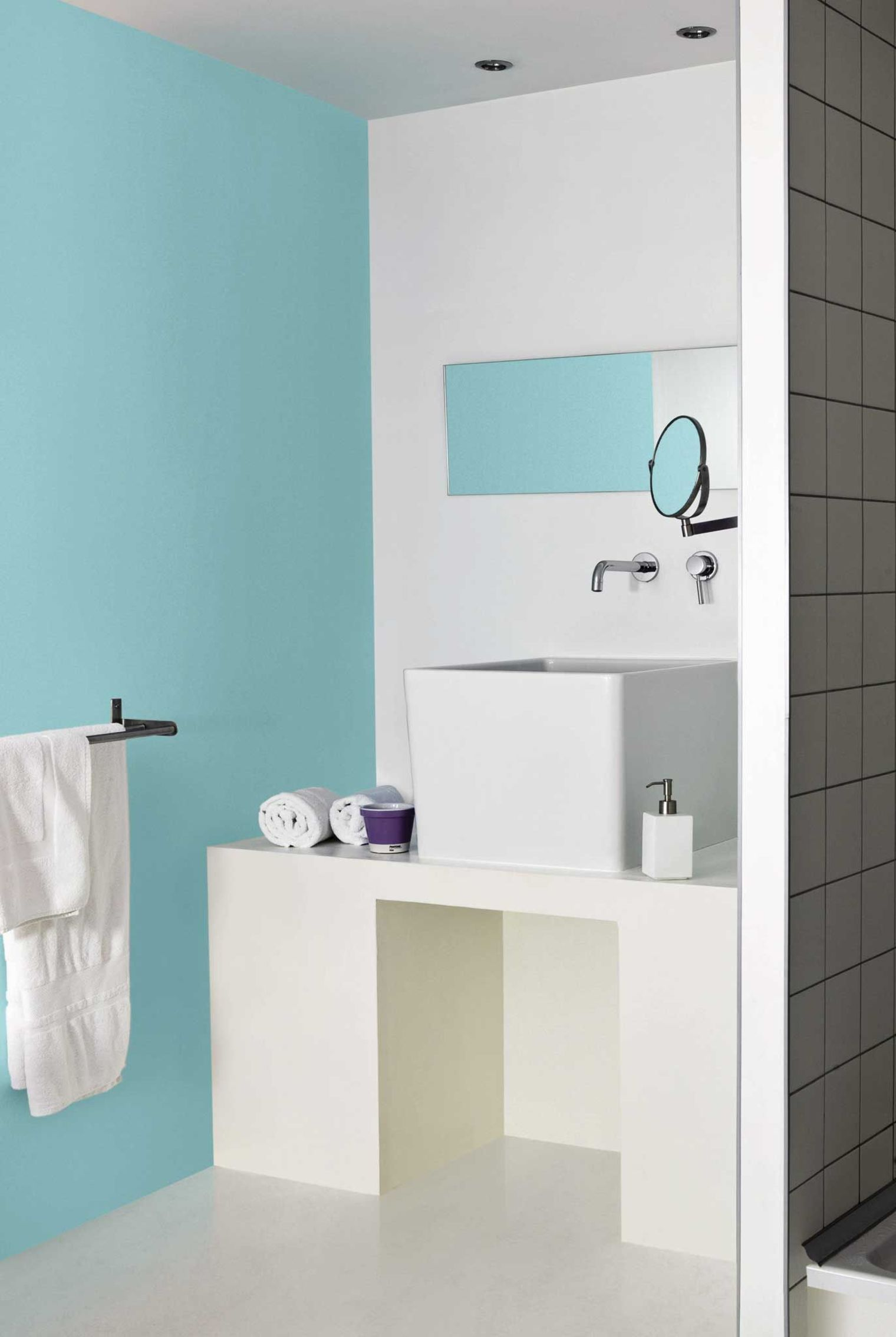 Peinture carrelage salle de bain fashion designs for Carrelage salle de bain brico depot