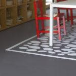 Peindre carrelage sol cuisine