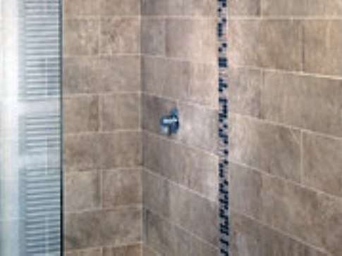 pose carrelage mural salle de bain