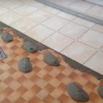 Pose carrelage sol sur ancien carrelage