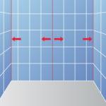 Poser du carrelage dans une douche