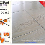 Promotion carrelage