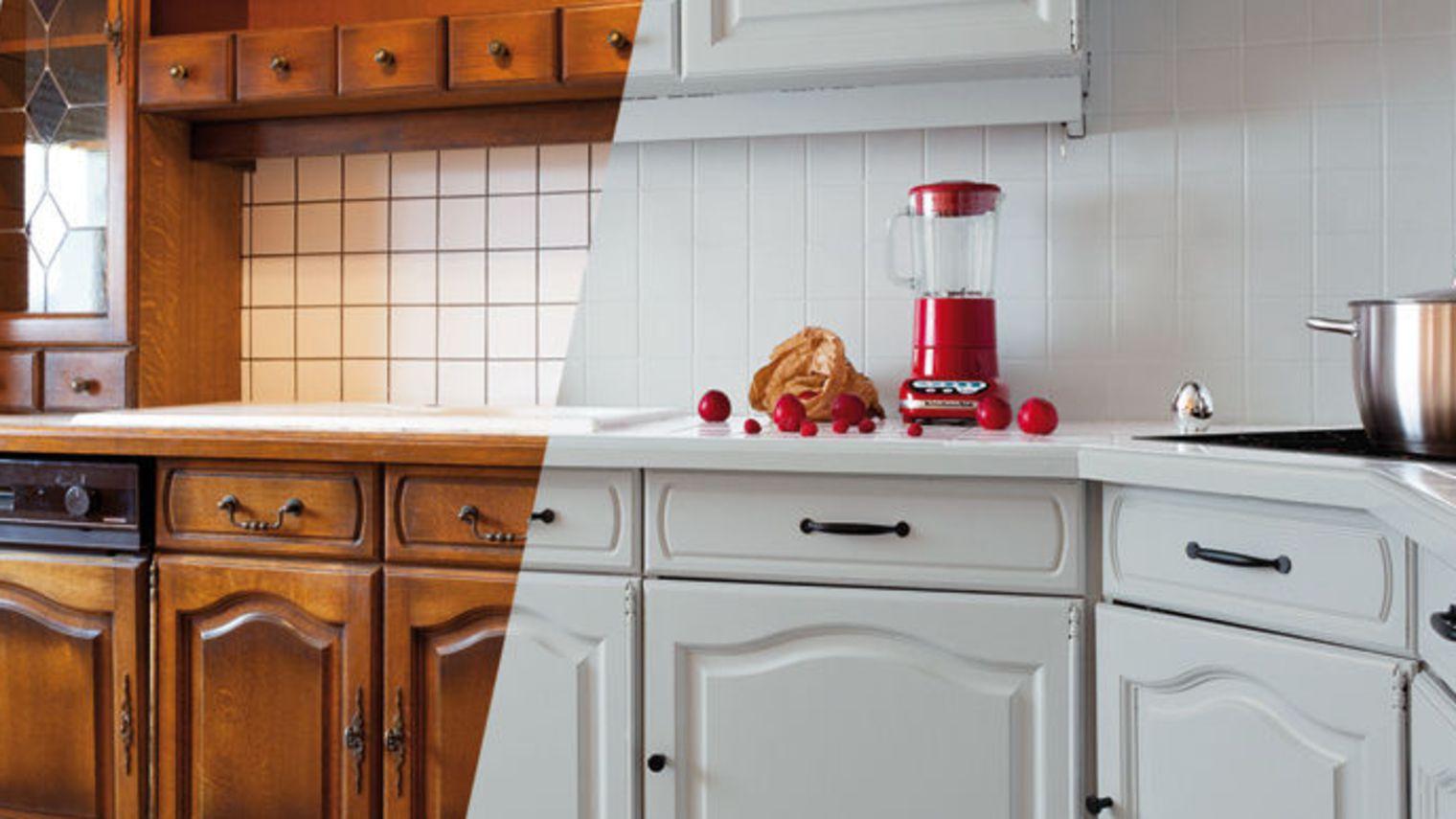 repeindre carrelage cuisine - Beton Cire Sur Carrelage Mural Cuisine