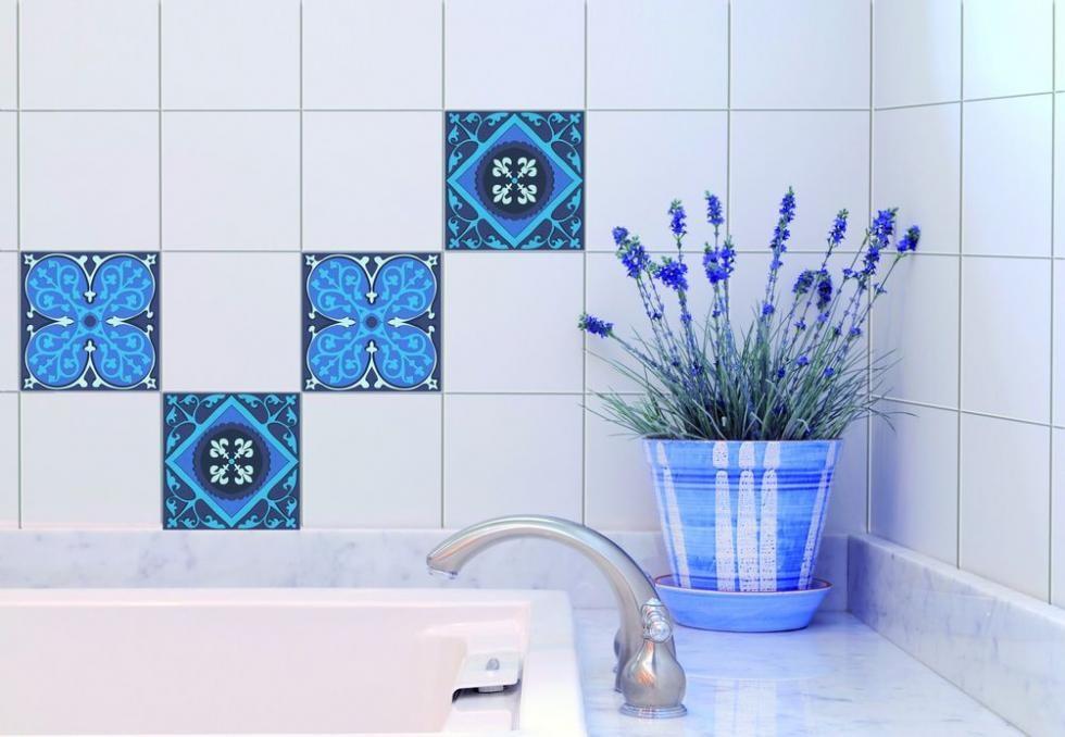 stickers pour carrelage salle de bain