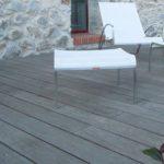 Terrasse carrelage imitation bois